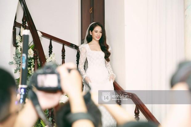 Dương Khắc Linh không giấu được hạnh phúc, Ngọc Duyên thay trang phục liên tục trong lễ rước dâu sáng nay  - Ảnh 10.