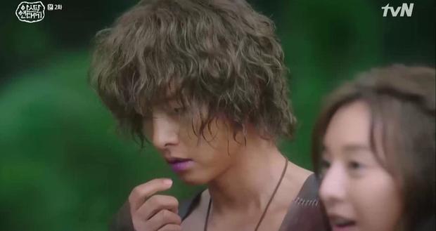 Song Joong Ki bị Kim Ji Won lấy đá chọi đầu, lộ diện là thế hệ đầu của thần tượng Kpop ngay Niên sử ký Arthdal tập 2 - Ảnh 3.