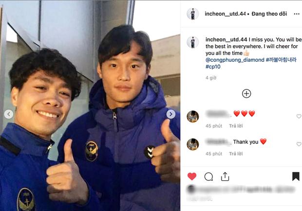 Hội bạn thân Incheon đăng ảnh chia tay Công Phượng cực tình cảm, anh chàng xúc động chỉ biết nói: Love you - Ảnh 6.
