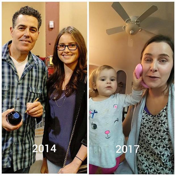 Hình ảnh trước và sau khi làm cha mẹ của các dân chơi sẽ cho bạn thấy việc nuôi con khắc nghiệt đến mức nào - Ảnh 28.