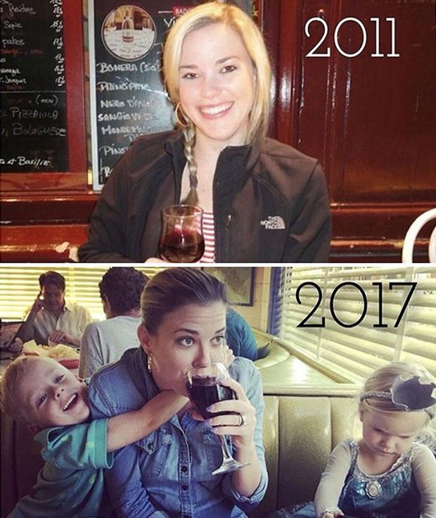 Hình ảnh trước và sau khi làm cha mẹ của các dân chơi sẽ cho bạn thấy việc nuôi con khắc nghiệt đến mức nào - Ảnh 22.