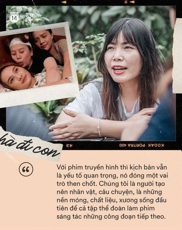 Biên kịch Về Nhà Đi Con Nguyễn Thu Thủy: Đây không phải là phim remake, đoạn kết sẽ khác hoàn toàn phim cũ - Ảnh 17.