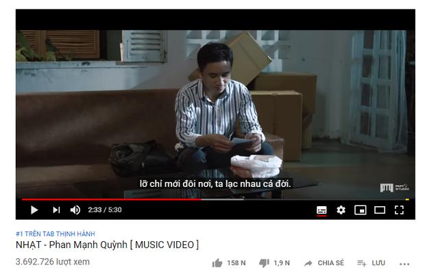 Không ồn ào ầm ĩ, ca khúc mới nhất của Phan Mạnh Quỳnh âm thầm chiếm lĩnh #1 trending từ lúc nào! - Ảnh 1.