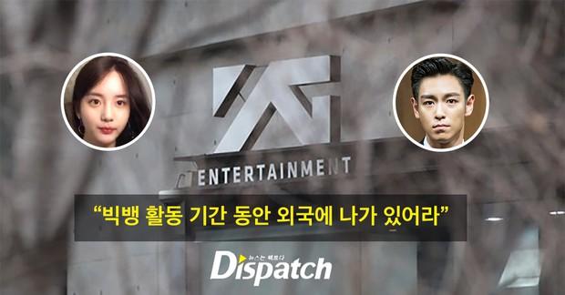 Dispatch khui lại bê bối cần sa: Lộ tin nhắn T.O.P rủ rê bạn gái, YG dùng thủ đoạn ép cô sang Mỹ để Big Bang comeback - Ảnh 1.