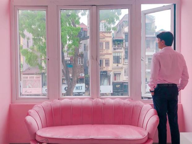 """Người ta nói màu hồng là màu công chúa, Quốc Trường không phải công chúa"""" nhưng vẫn thích màu hồng lắm đây này! - Ảnh 10."""