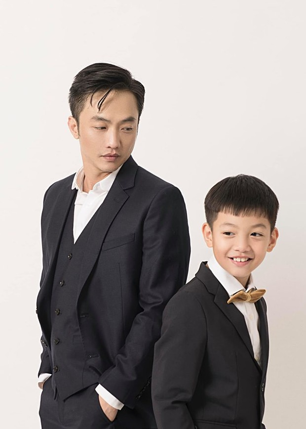 Cường Đô La và vợ sắp cưới cùng đăng ảnh mừng sinh nhật Subeo, đáng chú ý nhất là biểu cảm đáng yêu của cậu bé - Ảnh 2.
