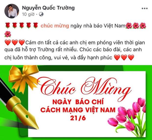 Quốc Trường, Ninh Dương Lan Ngọc, Nhã Phương cùng nhiều sao Việt tưng bừng chúc mừng ngày Báo chí Cách mạng Việt Nam 21/6 - Ảnh 1.