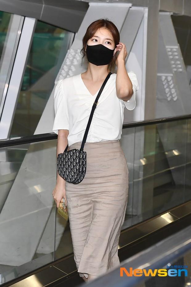 Lee Min Ho và Suzy lần lượt xuất hiện tại sân bay gần sinh nhật, tạo nên khung cảnh na ná ảnh hẹn hò 4 năm trước? - Ảnh 1.