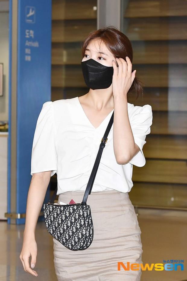 Lee Min Ho và Suzy lần lượt xuất hiện tại sân bay gần sinh nhật, tạo nên khung cảnh na ná ảnh hẹn hò 4 năm trước? - Ảnh 4.