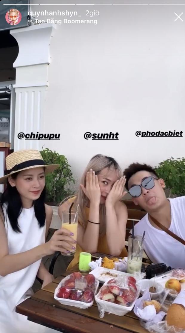 Ô! Chi Pu với hội bạn thân Quỳnh Anh Shyn - Phở - Sun HT du lịch Côn Đảo 3 ngày mà toàn thấy... ăn với ăn, đến khi về vẫn còn hẹn nhau làm bữa nữa - Ảnh 3.