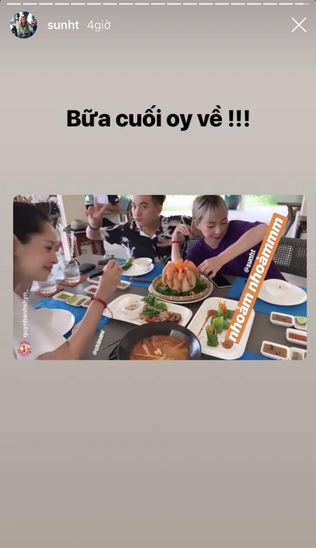 Ô! Chi Pu với hội bạn thân Quỳnh Anh Shyn - Phở - Sun HT du lịch Côn Đảo 3 ngày mà toàn thấy... ăn với ăn, đến khi về vẫn còn hẹn nhau làm bữa nữa - Ảnh 16.