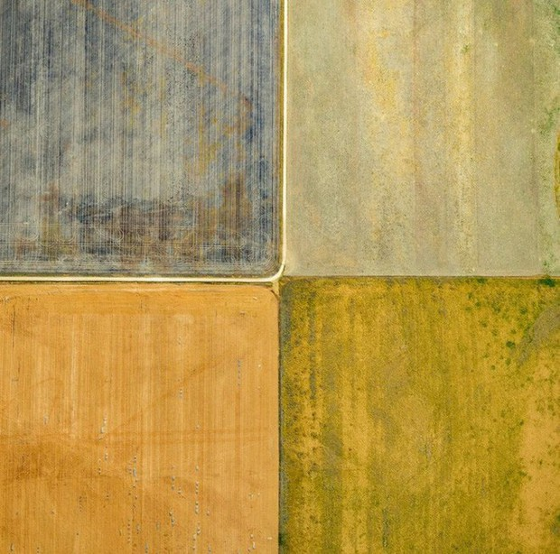 Khi những nông trại hóa thành bức ảnh nghệ thuật đẹp mê hồn dưới góc nhìn từ máy bay - Ảnh 2.
