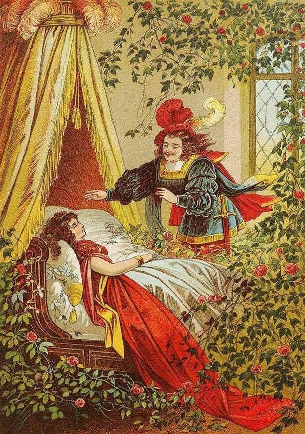 Sự thật về Công chúa ngủ trong rừng: Câu chuyện nhuốm màu đen tối khác xa trong những trang sách cho trẻ nhỏ khiến bạn phải rùng mình - Ảnh 5.