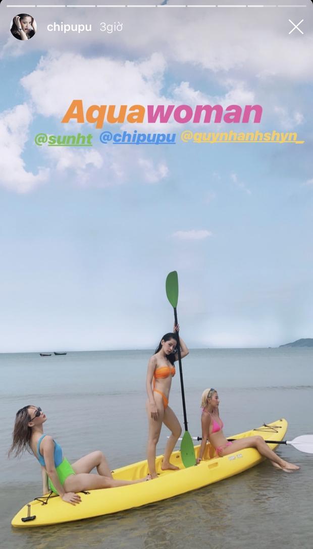 Ô! Chi Pu với hội bạn thân Quỳnh Anh Shyn - Phở - Sun HT du lịch Côn Đảo 3 ngày mà toàn thấy... ăn với ăn, đến khi về vẫn còn hẹn nhau làm bữa nữa - Ảnh 1.