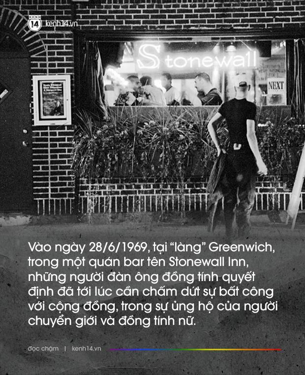 Đêm không ngủ tại quán bar Stonewall và 50 năm lịch sử của cộng đồng LGBT: Người đồng tính đã không phải núp sau những lùm cây - Ảnh 2.