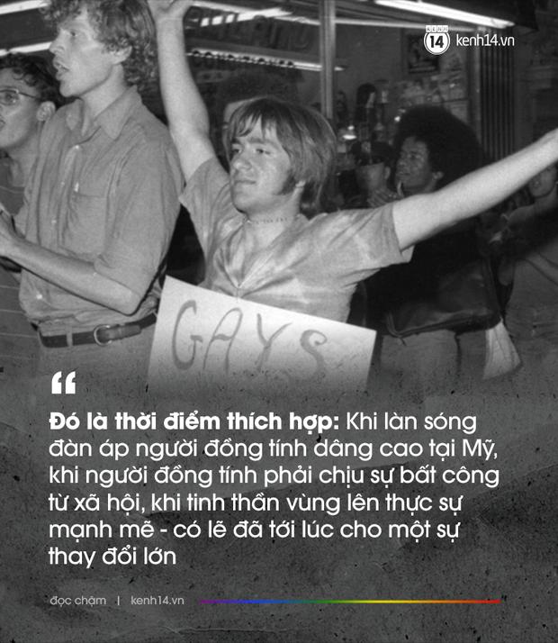 Đêm không ngủ tại quán bar Stonewall và 50 năm lịch sử của cộng đồng LGBT: Người đồng tính đã không phải núp sau những lùm cây - Ảnh 3.