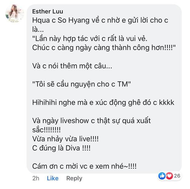 Hậu ồn ào can thiệp âm thanh khi song ca với So Hyang, phía Thu Minh tung phản hồi của Diva Hàn Quốc sau đêm diễn - Ảnh 1.