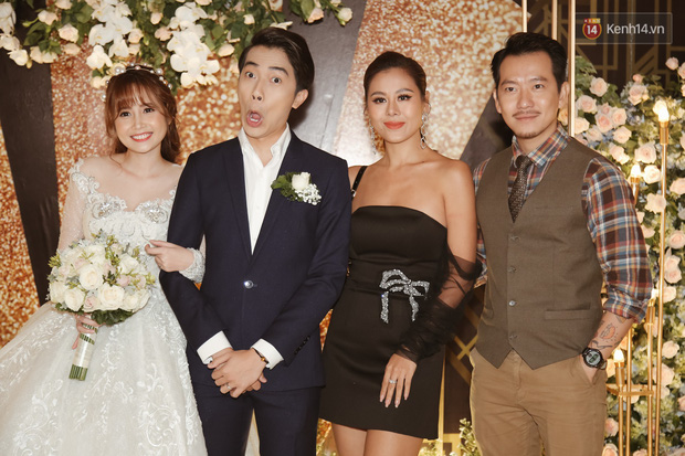 Streamer giàu nhất Việt Nam cùng dàn khách mời đình đám tại lễ cưới Cris Phan - Mai Quỳnh Anh - Ảnh 3.