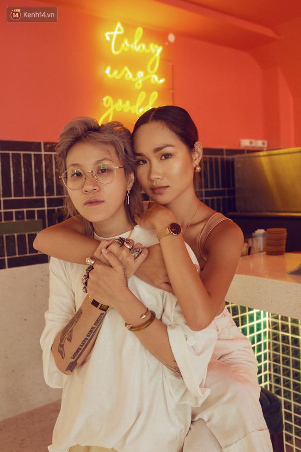 Trisha Đỗ - Gùi Trang: Yêu là phải nắm tay đi lên chứ không chơi ăn vạ, con gái yêu nhau thì sao? - Ảnh 7.