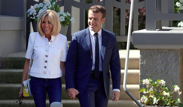 Đệ nhất phu nhân Pháp mở lòng về hôn nhân với chồng trẻ - Ảnh 1.