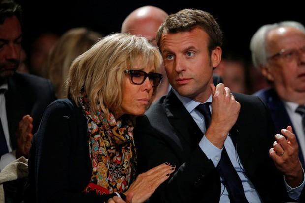 Đệ nhất phu nhân Pháp mở lòng về hôn nhân với chồng trẻ - Ảnh 2.