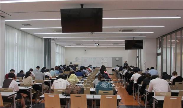 Trên 700 thí sinh người Nhật tham dự kỳ thi năng lực tiếng Việt ở Nhật Bản - Ảnh 1.