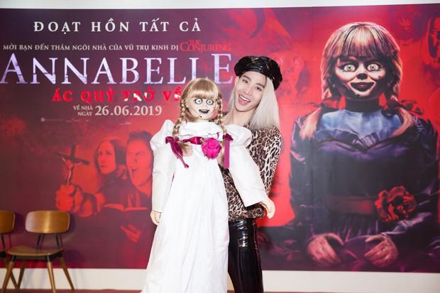 Clip Fan Việt xem Annabelle: Mong em Beo đem binh đoàn tàn sát hết gia đình đó đi dùm! - Ảnh 14.