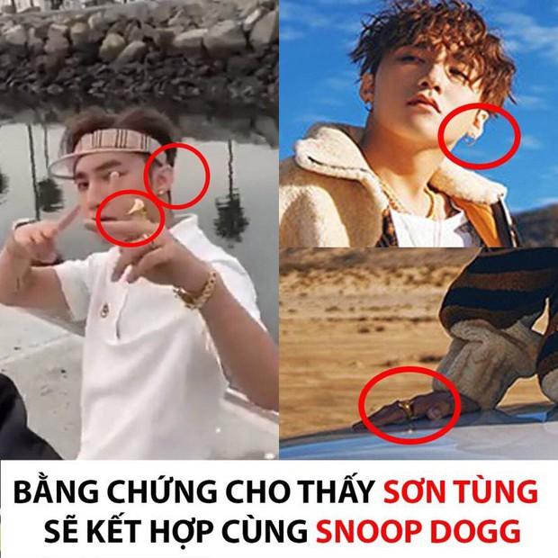 Chính chi tiết này trong poster Hãy trao cho anh là bằng chứng về màn kết hợp giữa Sơn Tùng và Snoop Dogg? - Ảnh 2.