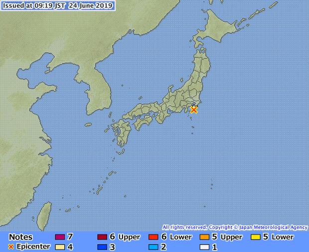 Nhật Bản: Thủ đô Tokyo và các tỉnh lân cận rung chuyển vì động đất - Ảnh 1.