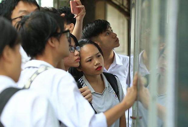 Trên 99% thí sinh đến làm thủ tục thi THPT quốc gia - Ảnh 1.