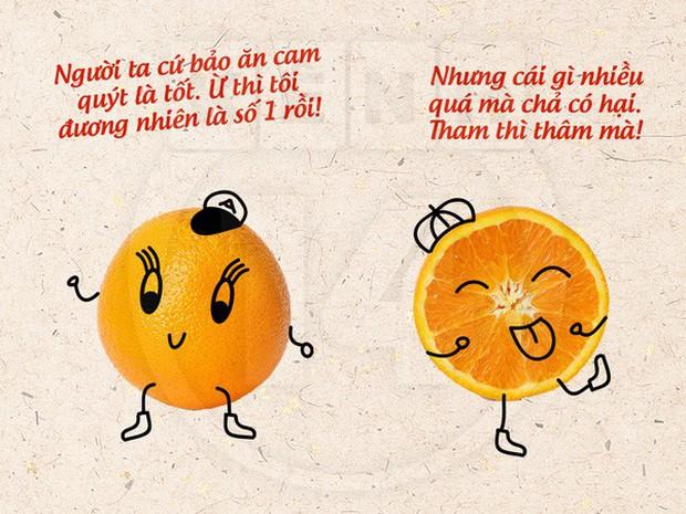 Ăn hết cả đống cam trong 1 ngày để giữ dáng... chắc chị Hà Hồ đang đùa chút thôi - Ảnh 10.