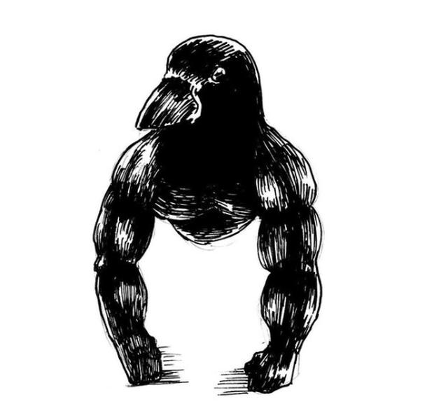 Clip gây lú cực mạnh: Tưởng khỉ đột mỏ nhọn đứng phơi nắng nhưng sự thật khác biệt hoàn toàn - Ảnh 6.