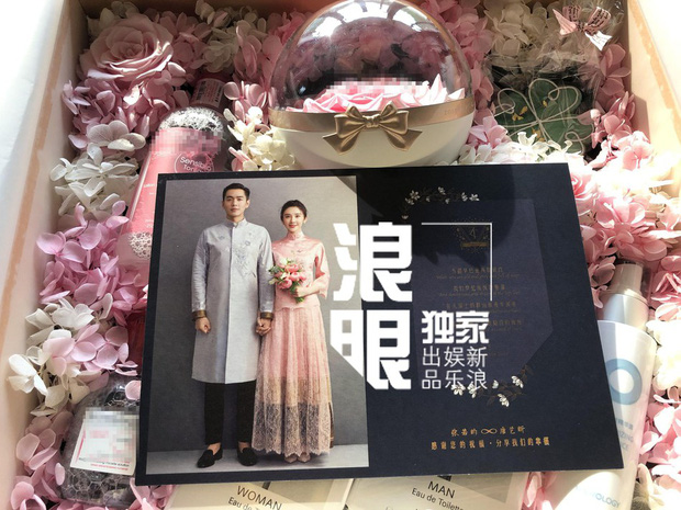 Hé lộ quà mời cưới của mỹ nhân Tây Du Ký và sao Pháp Sư Vô Tâm, cặp đôi cười tít mắt chuẩn bị về chung 1 nhà - Ảnh 2.