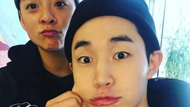 11 hội bạn thân sao Hàn khác giới đình đám: V (BTS) quen minh tinh hơn 17 tuổi, Heechul như thánh thu thập mỹ nhân - Ảnh 15.