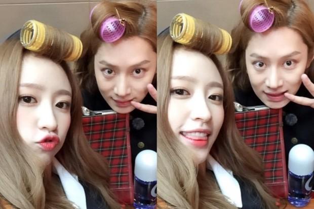 11 hội bạn thân sao Hàn khác giới đình đám: V (BTS) quen minh tinh hơn 17 tuổi, Heechul như thánh thu thập mỹ nhân - Ảnh 18.