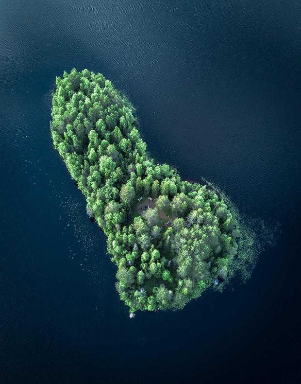 Đảo tí hon Kotisaari bốn mùa thay lá đẹp như trong cổ tích, ai nhìn cũng ao ước được đặt chân đến một lần trong đời - Ảnh 11.