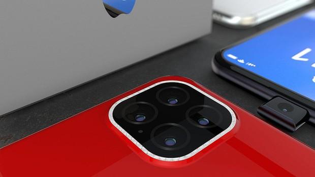 Ngắm concept iPhone 11 Pro nóng hổi hấp dẫn: Camera selfie thò thụt độc đáo, 4 camera sau hình vuông - Ảnh 9.
