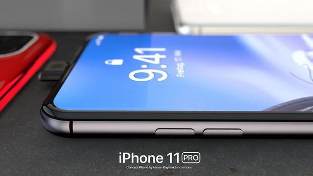 Ngắm concept iPhone 11 Pro nóng hổi hấp dẫn: Camera selfie thò thụt độc đáo, 4 camera sau hình vuông - Ảnh 10.