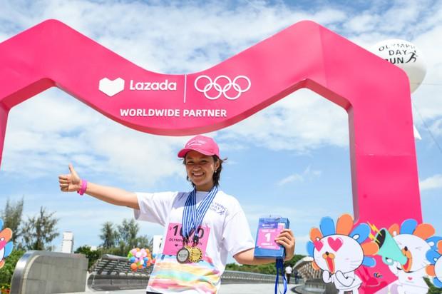 Lazada tổ chức Olympic Day Run, công bố là đối tác của Olympic trong 9 năm tới - Ảnh 9.