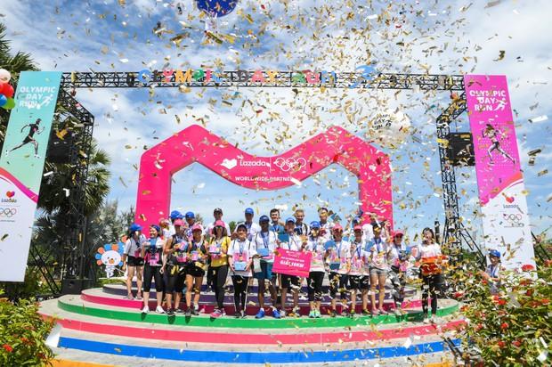 Lazada tổ chức Olympic Day Run, công bố là đối tác của Olympic trong 9 năm tới - Ảnh 10.