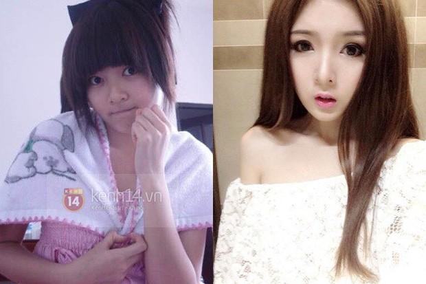 Hành trình nhan sắc và tình trường của hot girl mạng mang tiếng tiểu tam xen ngang cuộc tình của Lương Bằng Quang với Ngân 98 - Ảnh 3.
