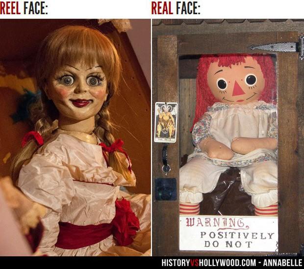Búp bê ma Annabelle ngoài đời có thật đã phóng hỏa, giết người như trong phim? - Ảnh 1.