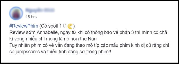 Khán giả Việt ngán ngẩm với Annabelle: Chỉ mong ai đó độ búp bê ma cho xong - Ảnh 4.