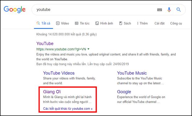Bắt gặp Giang Ơi kè kè ngay top YouTube gợi ý trên Google, dân mạng trổ tài thám tử ra sao? - Ảnh 1.