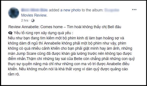 Khán giả Việt ngán ngẩm với Annabelle: Chỉ mong ai đó độ búp bê ma cho xong - Ảnh 5.