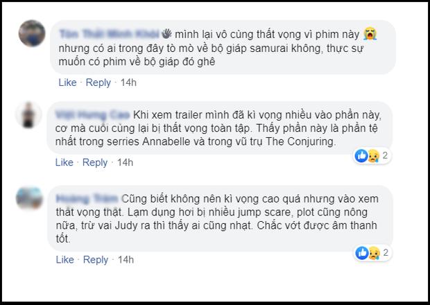 Khán giả Việt ngán ngẩm với Annabelle: Chỉ mong ai đó độ búp bê ma cho xong - Ảnh 9.