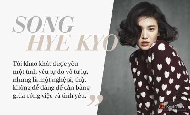 Song Hye Kyo: Dành cả tuổi thanh xuân đi tìm tình yêu tự do với các tài tử quyền lực, nhưng đổi lại vẫn chỉ là số 0! - Ảnh 1.