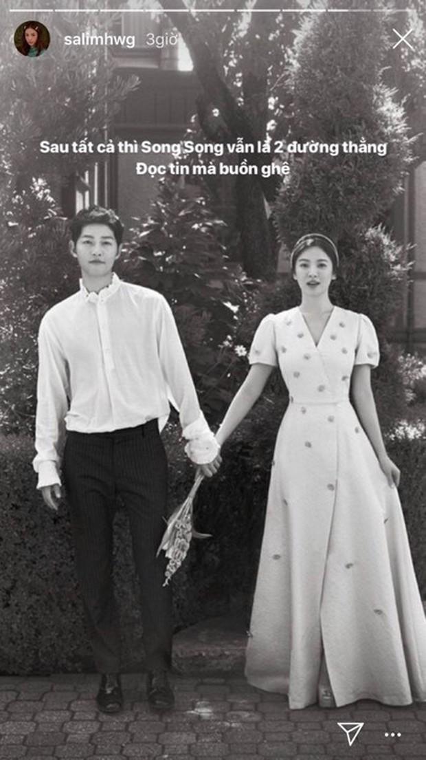Dân mạng Việt sốc trước tin Song - Song ly hôn: Động lực để yêu và cưới của tôi tan tành rồi! - Ảnh 12.
