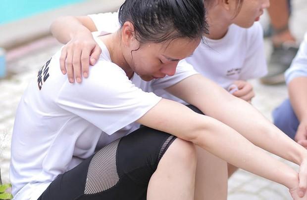 Phương Oanh khoe ảnh đôi chân bầm dập, chằng chịt vết thương sau khi tham gia show thực tế - Ảnh 2.