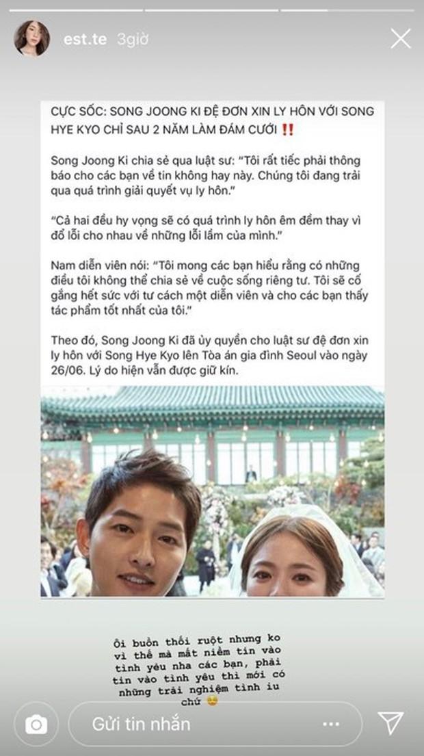 Dân mạng Việt sốc trước tin Song - Song ly hôn: Động lực để yêu và cưới của tôi tan tành rồi! - Ảnh 13.